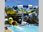 Splash Harbour Water Park is less than a mile away.