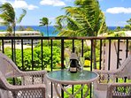 Kihei Akahi D506 has one of the best ocean views in the entire complex