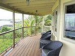 Wrap around lanai with plexiglass rails for the best views!