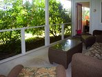 You'll spend lots of time on the fully screened lanai