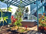 Hale Kukui Ola ocean view home with hot tub