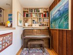 Piano- off living room