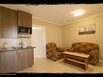 We have one bedroom units as well