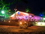 Mullins Beach Bar is only 3 minutes to the North. Casual bar and dinning day and night.