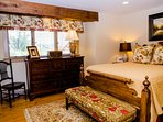 Bedroom #2 – Main Level Master Suite - Queen Bed w/Private Full Bath - Soaking Tub & Walk-in Shower (#2)