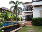 Tropicana 2 storey 3 bedrooms, 2 bathrooms with private pool terrace.