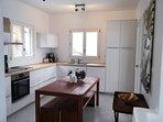 The kitchen of the Villa.