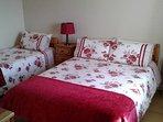 Double + single bedroom