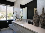 Guest Bathroom with views of Table Mountain