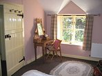 Character double bedroom with stream & woodland views - memory foam mattress for an amazing sleep!