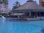 Water aerobics every morning, besides yoga Zumba and many other activities around the pool