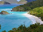 Trunk Bay- St John.. spend a day exploring our sister island