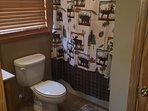 Upper / loft  level bathroom