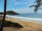 Just a few steps from our home.  Maluaka Beach, Turtle Town, perfect snorkeling, SUP, Fishing, Kayak