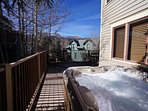 Mountain Comfort House Deck Breckenridge Lodging Vacation Rental