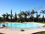 nuova bio piscina con ingresso a spiaggia con acqua idrolizzata al sale