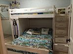 3rd Bedroom with a Double / Twin Bunk Bed