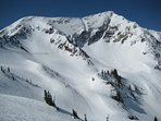 Perfect powder snow ski areas near by