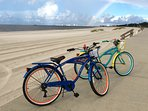 2 beach cruiser bikes available in our townhouse for use during your stay