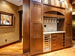 Wet Bar across from kitchen