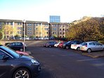 Residential Car Park view