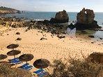 Arrifes Beach - 5 mins walk