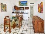 Xaman Ha 7208 Playa del Carmen Dining Room