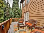 Hang out on the spacious deck!
