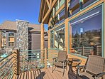 Soak in some additional sun on the back deck as you enjoy the views of the Beaver Course -- an incredible experience...