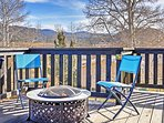Featuring a spacious deck offering splendid views, this home promises a rejuvenating  mountain escape!