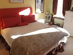 The upstairs King Bedroom.