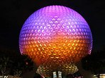 Epcot in Orlando welcomes you to learn about different cultures through food, rides and shopping.