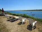 Relax! Read a book, enjoy your favorite beverage, and take in the amazing view! - 30 Seabeach Road Chatham Cape Cod New...