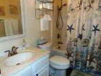 bathroom: towels, hand soap, body wash, shampoo, Kleenex - provided