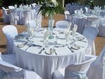 We have also hosted weddings.