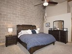 Spacious Master Bedroom With Comfy King Sized Bed and EnSuite Bath