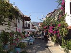 Charming small streets to explore with over 150 fabulous restaurants!