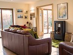 Large living room is lovely and comfortable, beautifully modern, bright and spacious.