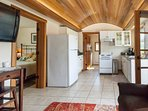 Full size kitchen including dishwasher