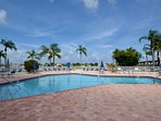 Large Bay Front heated pool