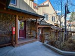 Sunset Exterior Breckenridge Lodging Vacation Rental