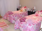 Little Girls or little boys special room; made up for adults too, you choose