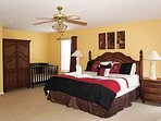 2nd Floor King Master Suite with Crib - 1