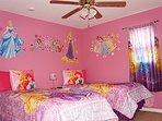 2nd Floor Disney's Princess Twin Bedroom