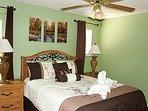 2nd Floor Queen Bedroom - 1