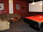 Theater/Game Room