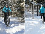 Fat Bike Rental At The Mauricie National Park