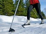Bring your skies: Cross Country Skiing around the cottage or at The Mauricie National Park