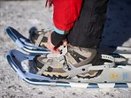Bring your snow shoes, Snowshoeing rental possible at National Mauricie Park