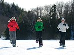 Bring your snow shoes and enjoy walking i=around or in The National Mauriice Park
